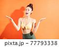 Woman, bikini, summer 77793338