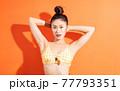 Woman, bikini, summer 77793351