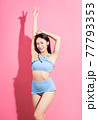 Woman, bikini, summer 77793353