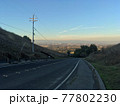 高台から見るシリコンバレーの朝日 77802230