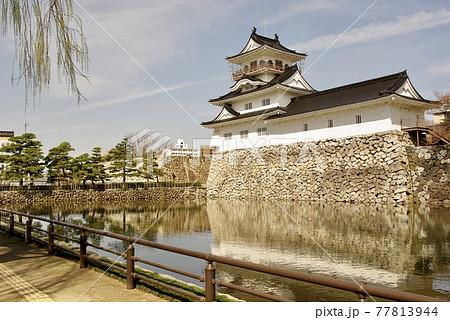 富山城、富山市郷土博物館、越中、富山観光、自粛、新型コロナ 77813944