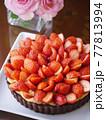 苺のカスタードココアタルト 77813994