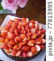 苺のカスタードココアタルト 77813995