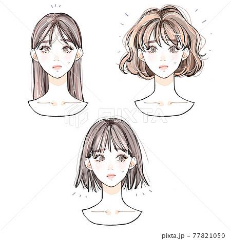 髪の悩み 77821050