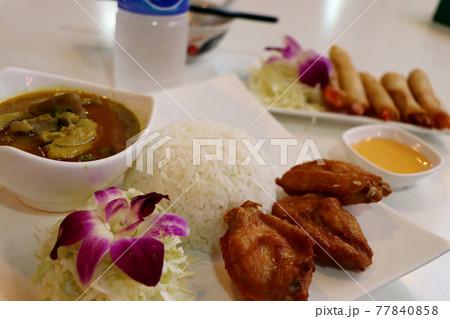 本場タイのグリーンカレー/タイ・東南アジアの食べ物・料理 77840858