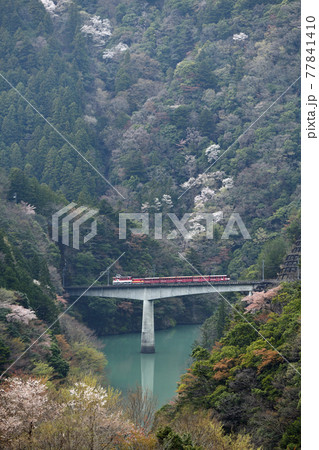 大井川鐵道沿線の旅 長嶋ダム展望 77841410