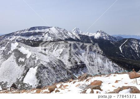 【八ヶ岳】西天狗岳からの八ヶ岳核心部 77845371