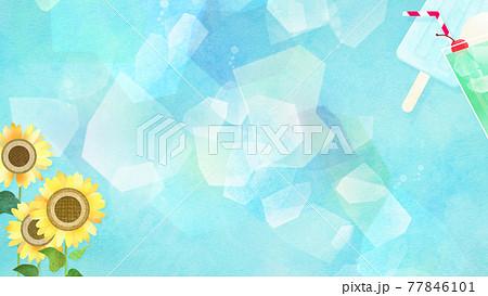 夏のイメージ背景 - 複数のバリエーションがあります 77846101