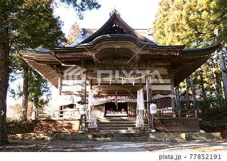 長野市松代 皆神山神社 77852191