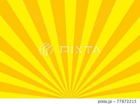 放射状のタイトル素材 77872215