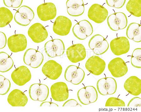 青りんごのパターン 77880244