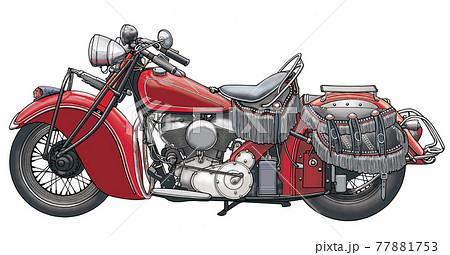 オートバイ 77881753