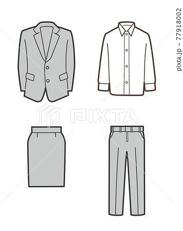 スーツセット スカート パンツ シャツ 77918002