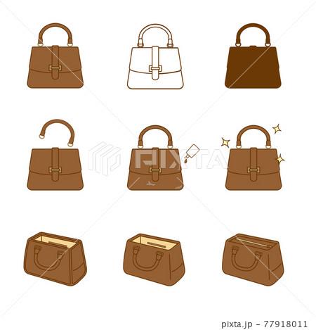 鞄の修理 サービスのイラスト アイコンセット 77918011