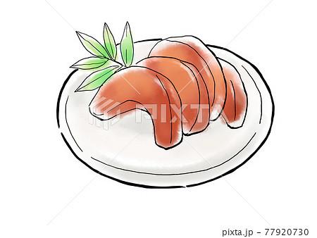 食べ物 イラスト 奈良漬け 77920730