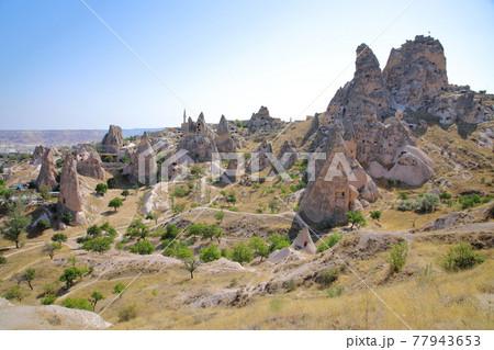 カッパドキアの景色(トルコ) 77943653