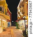 美浜タウンリゾート・アメリカンビレッジの夜景(沖縄県北谷町) 77943667