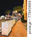 美浜タウンリゾート・アメリカンビレッジの夜景(沖縄県北谷町) 77943669