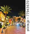美浜タウンリゾート・アメリカンビレッジの夜景(沖縄県北谷町) 77943670