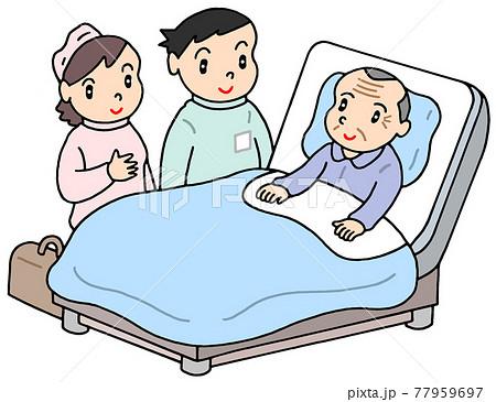 訪問医療・訪問看護(お爺さん) 77959697