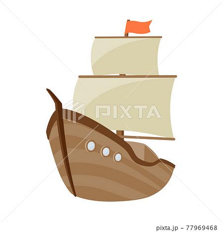 船 デフォルメ 77969468