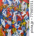 抽象絵画 77985551