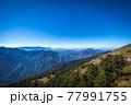 快晴の山頂 77991755