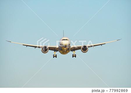 旅客機 正面 77992869