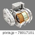 グレイバックに電気自動車用モーターとギアボックスのイメージ 78017101