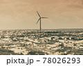 Wind turbines farm in Baltic Sea, Denmark 78026293