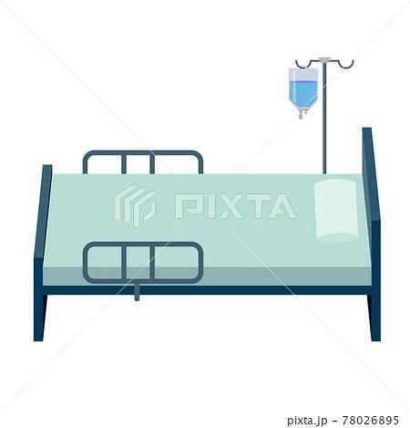 病室のベッド 78026895
