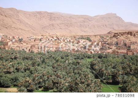 モロッコの景色 78031098