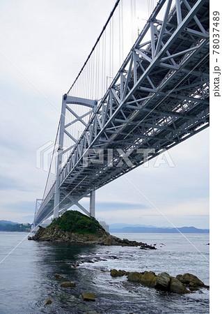 相ヶ浜付近から見る大鳴門橋 78037489