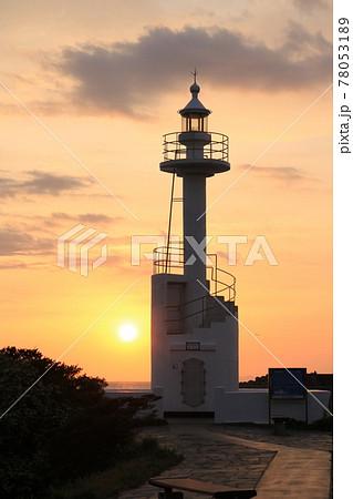 夕暮れの灯台 その4~鹿児島県いちき串木野市 長崎鼻さのさ灯台~ 78053189