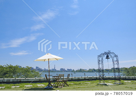 初夏の水戸市千波湖公演 78057019