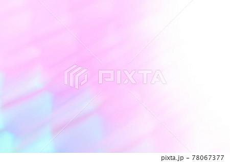 ピンク色・青色系の抽象的背景 幾何学模様風 78067377
