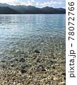 世界自然遺産の小笠原諸島 透き通る海 78072766