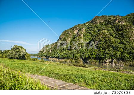 《岐阜県》坂祝町 木曽川 78076358