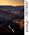 Grand Canyon National park at sunrise, Arizona, USA 78078097