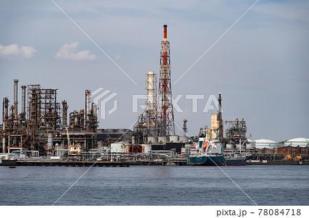 京浜工業地帯風景 78084718