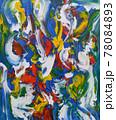 抽象絵画 78084893