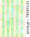 メロン色の背景素材 和紙水彩風 78085142