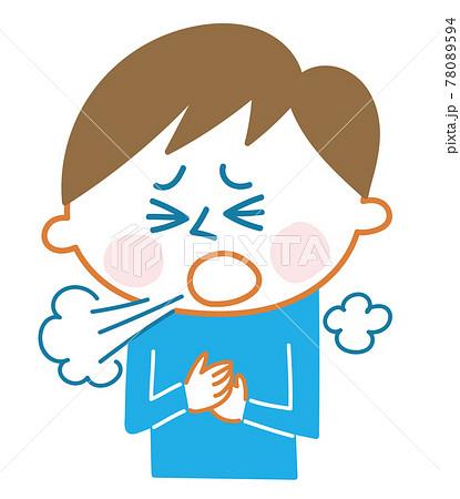 子供の咳 78089594