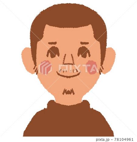男性の顔 78104961