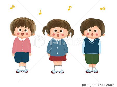 歌う子供たち 78110807