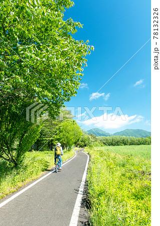 蒜山高原の初夏・新緑のサイクリングのイメージ 78132326