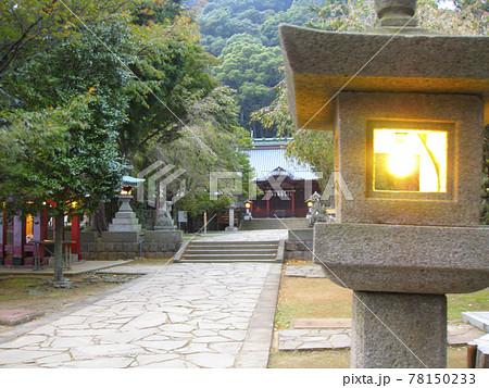 伊豆山神社 境内 灯篭 78150233