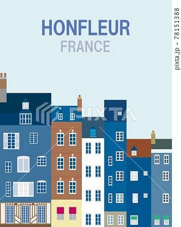 オンフルール honfleur ノルマンディー normandie フランス france 78151388