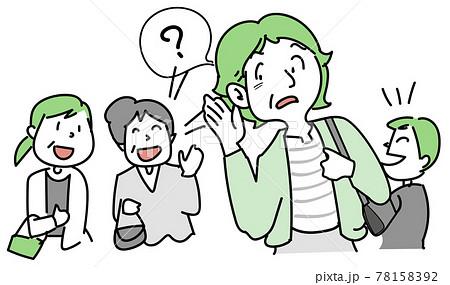 聴力低下-他の人の話し声が聞き取りづらい 78158392