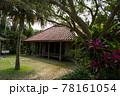 沖縄の古民家 イメージ 赤瓦 78161054